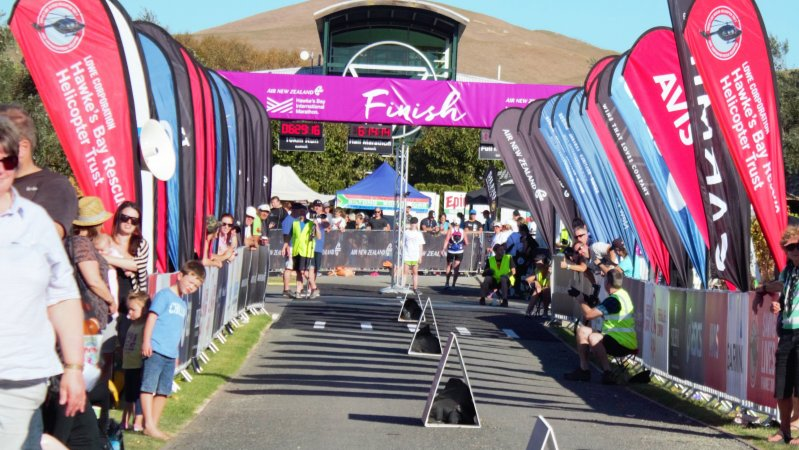 Countdown to the 2018 Air New Zealand Hawke's Bay International Marathon